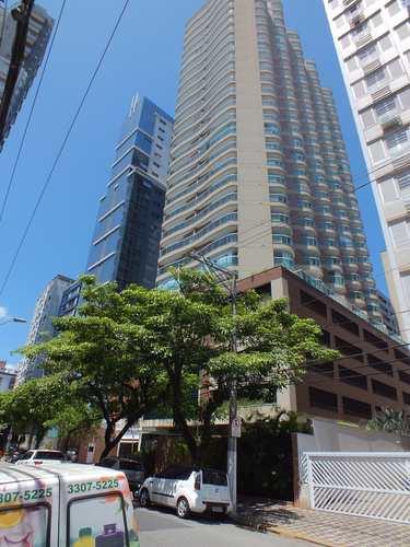 Apartamento, código 1349 em Santos, bairro Gonzaga