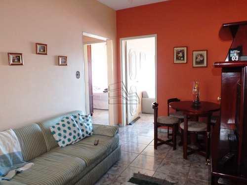 Apartamento, código 1354 em Santos, bairro Aparecida