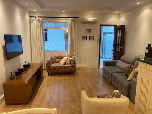 Apartamento, código 1360 em Santos, bairro Estuário