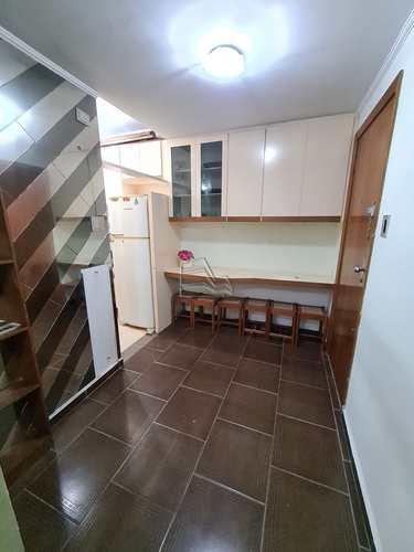 Apartamento, código 1516 em Santos, bairro Pompéia