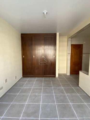 Sala Living, código 1590 em Santos, bairro Gonzaga