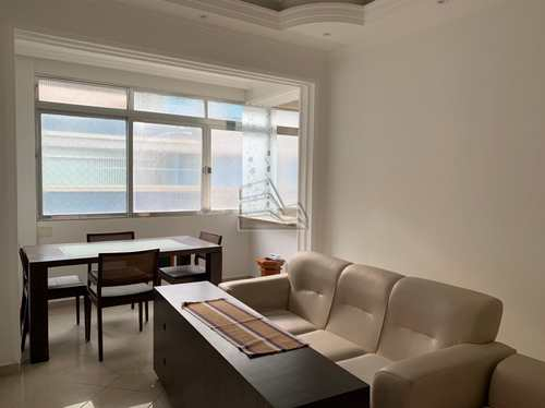 Apartamento, código 1598 em Santos, bairro Aparecida