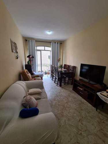 Apartamento, código 1630 em Santos, bairro Boqueirão