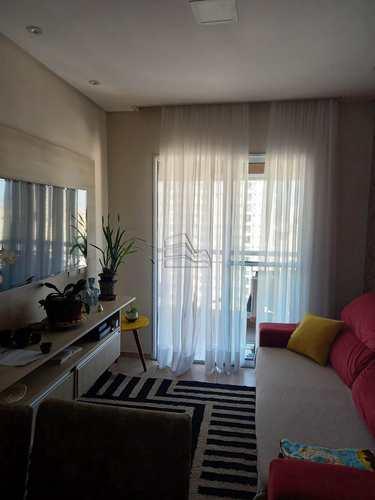 Apartamento, código 1635 em Santos, bairro Estuário