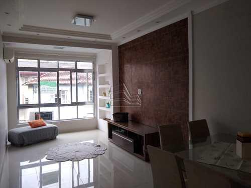 Apartamento, código 1638 em Santos, bairro Boqueirão