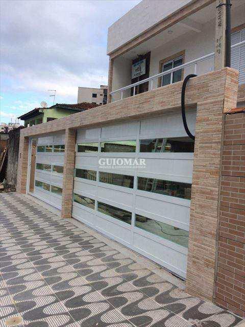 Sobrado de Condomínio em Praia Grande, no bairro Caiçara