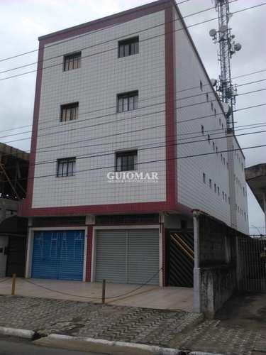 Kitnet, código 2365 em Praia Grande, bairro Caiçara