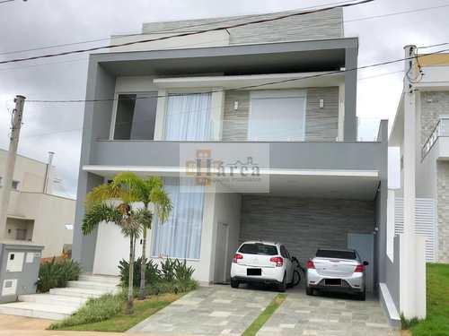 Sobrado de Condomínio, código 15800 em Sorocaba, bairro Ibiti Reserva