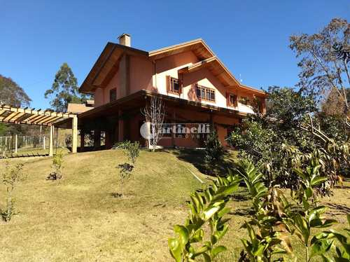 Casa de Condomínio, código 700 em Santo Antônio do Pinhal, bairro 10 Km do Centro
