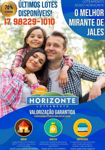 Loteamento, código 3520 em Jales, bairro Parque Industrial II