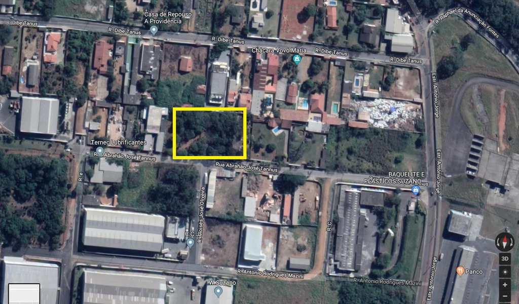 Terreno Industrial em Suzano, bairro Chácaras Reunidas Guaio