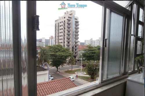 Apartamento, código 10561 em Santos, bairro Ponta da Praia