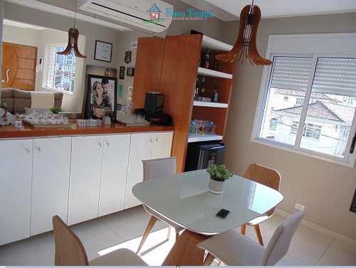 Apartamento, código 10698 em Santos, bairro Embaré