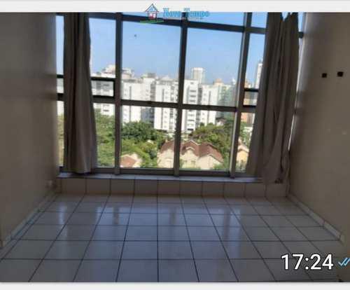 Apartamento, código 11028 em Santos, bairro Aparecida