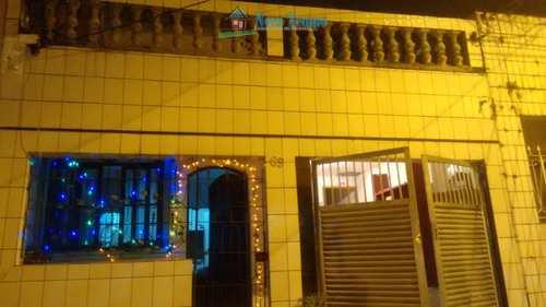 Casa, código 11115 em Santos, bairro Rádio Clube