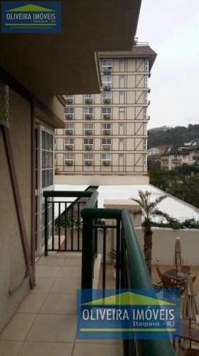 Apartamento, código 42 em Petrópolis, bairro Itaipava
