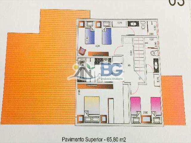 Casa de Condomínio em Ilhabela, bairro Tininim