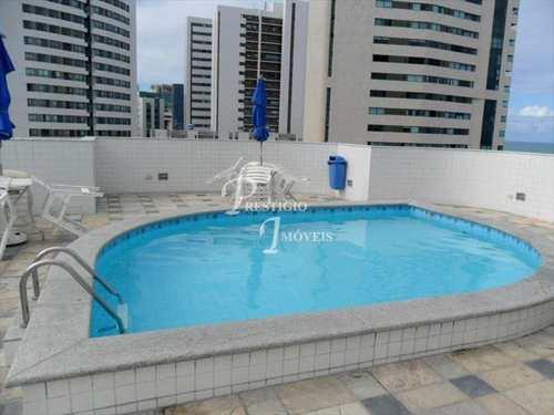 Flat, código 85901 em Recife, bairro Pina