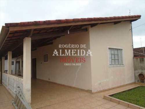 Casa, código 887 em Itanhaém, bairro Balneário São Jorge