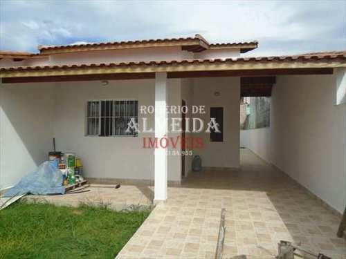 Casa, código 858 em Itanhaém, bairro Balneário São Jorge
