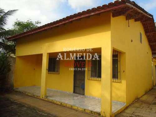 Casa, código 848 em Itanhaém, bairro Balneário São Jorge