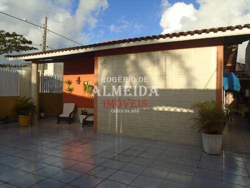 Casa, código 921 em Itanhaém, bairro Balneário Gaivotas