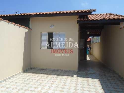 Casa, código 923 em Itanhaém, bairro Balnerio Gaivota