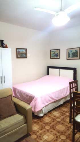 Kitnet, código 2851 em São Vicente, bairro Itararé