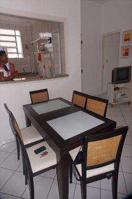 Apartamento, código 2844 em Santos, bairro Boqueirão