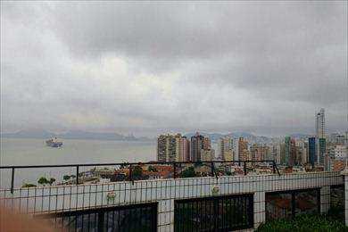 Flat em Santos, no bairro Ponta da Praia