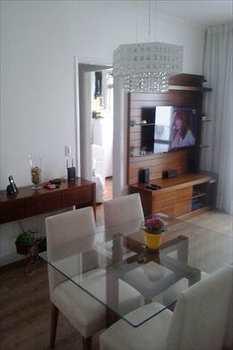 Apartamento, código 2745 em Santos, bairro Aparecida