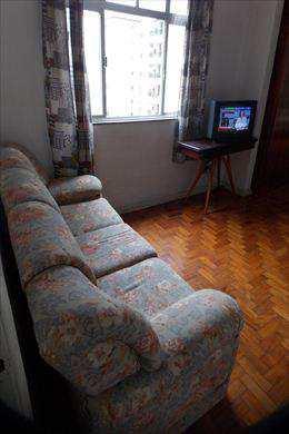 Sala Living, código 2741 em Santos, bairro José Menino