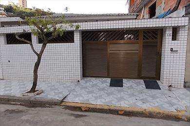 Casa, código 2640 em São Vicente, bairro Itararé