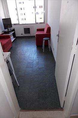 Apartamento, código 2607 em Santos, bairro Gonzaga