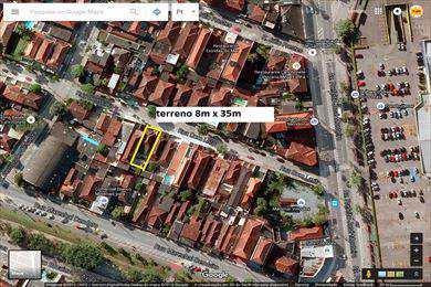 Terreno, código 2594 em São Vicente, bairro Vila Valença