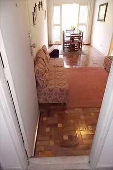 Apartamento, código 2561 em São Vicente, bairro Itararé