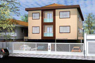 Apartamento em São Vicente, bairro Cidade Naútica