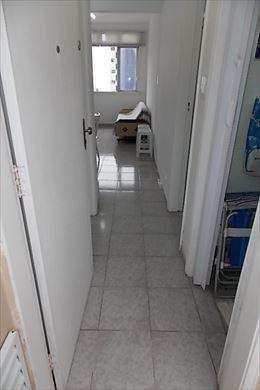 Sala Living, código 2543 em Santos, bairro José Menino
