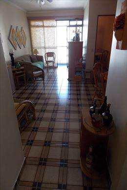 Apartamento, código 2455 em São Vicente, bairro Itararé