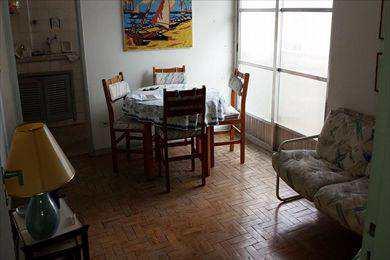Apartamento, código 2228 em São Vicente, bairro Itararé