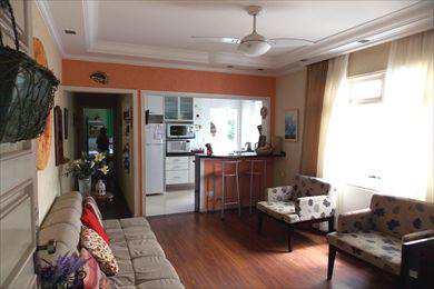 Apartamento, código 2199 em São Vicente, bairro Itararé