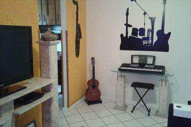 Apartamento, código 2180 em Santos, bairro Encruzilhada