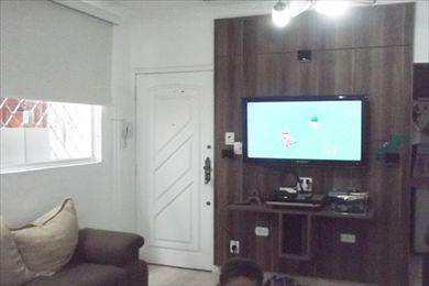 Apartamento, código 2076 em Santos, bairro Boqueirão
