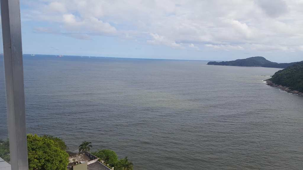 Sala Living em São Vicente, no bairro Ilha Porchat