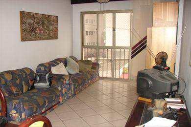 Apartamento, código 876 em São Vicente, bairro Itararé