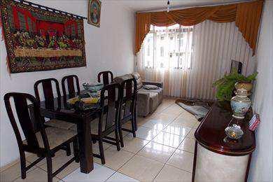 Apartamento, código 375 em Santos, bairro Marapé