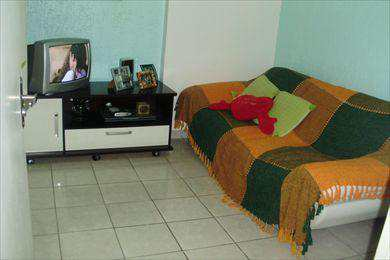 Apartamento, código 187 em São Vicente, bairro Itararé