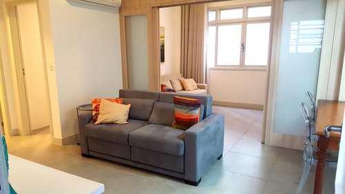 Apartamento, código 2996 em Santos, bairro José Menino