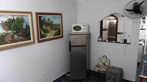 Apartamento, código 3117 em São Vicente, bairro Itararé