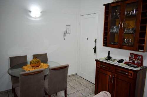 Apartamento, código 3130 em Santos, bairro Macuco